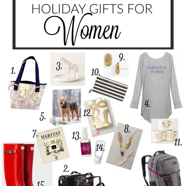 Step away from the perfume. Here's 15 holiday gifts for women she'll LOVE to get this year! (BEST Gifts for Women Holiday Gift Guide)