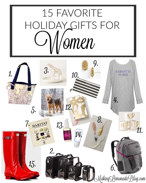 heres 15 holiday gifts for women shell love