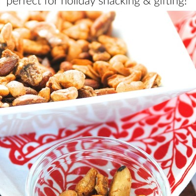 Crowd-Pleasing Pumpkin Spiced Mixed Nuts Recipe {Easy Entertaining Idea!}