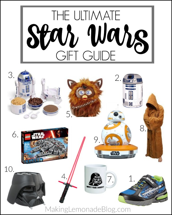 Love these picks for best gifts for Star Wars fans of all ages! (Star Wars gift guide)