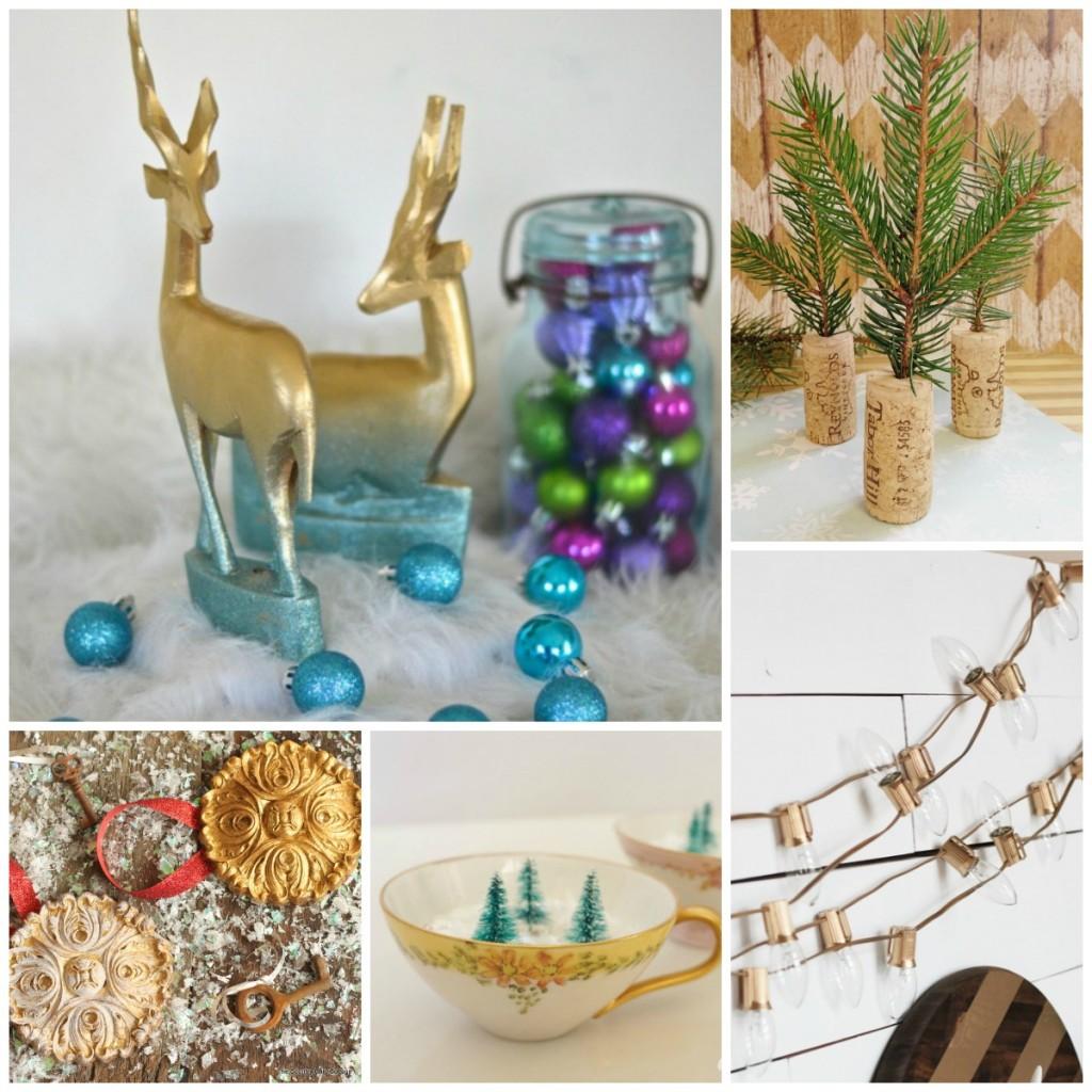 25 Thrift Store Christmas Decor Ideas