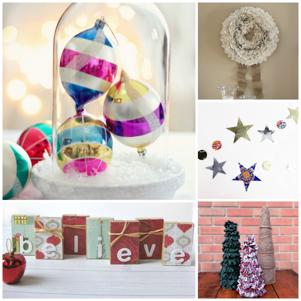 These DIY thrift store Christmas decorations are practically FREE!