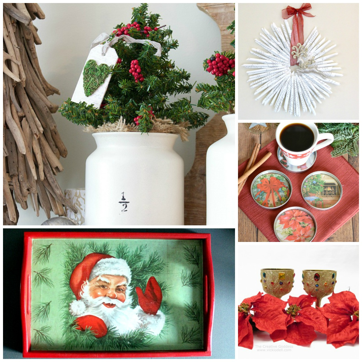 these diy thrift store christmas decorations are practically free - Diy Christmas Decorations