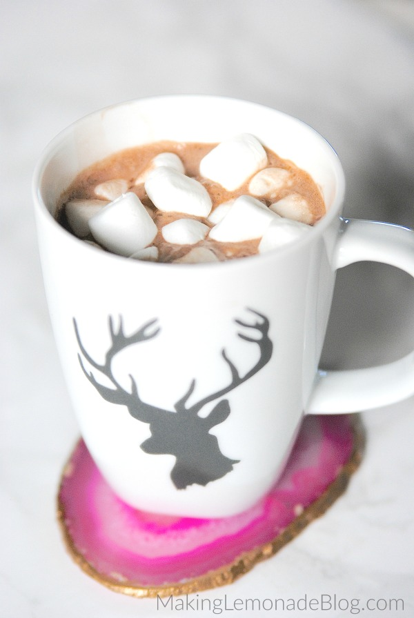 To make this hot chocolate even creamier, replace 1 1/2 cups of the milk with heavy cream instead. I typically use whole milk because it's what I have on hand, but the creamier version is truly decadent!