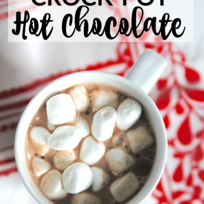 BEST EVER Crockpot Hot Chocolate Recipe!