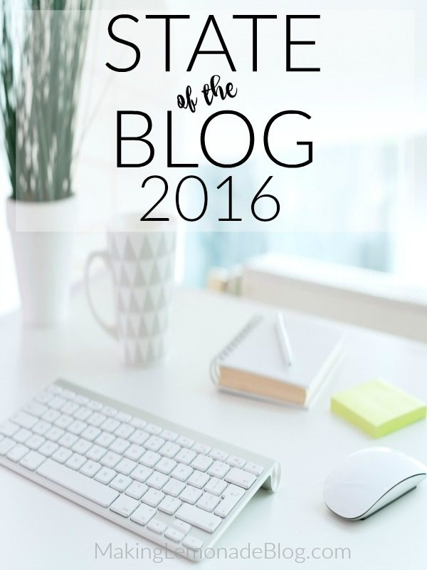 State of the Blog 2015 (and What's Next for Making Lemonade)