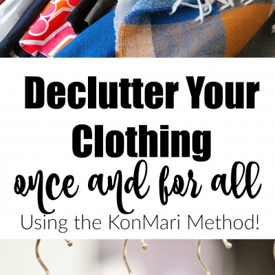 10 Steps to Declutter Your Clothing Once and For All (The KonMari Method)