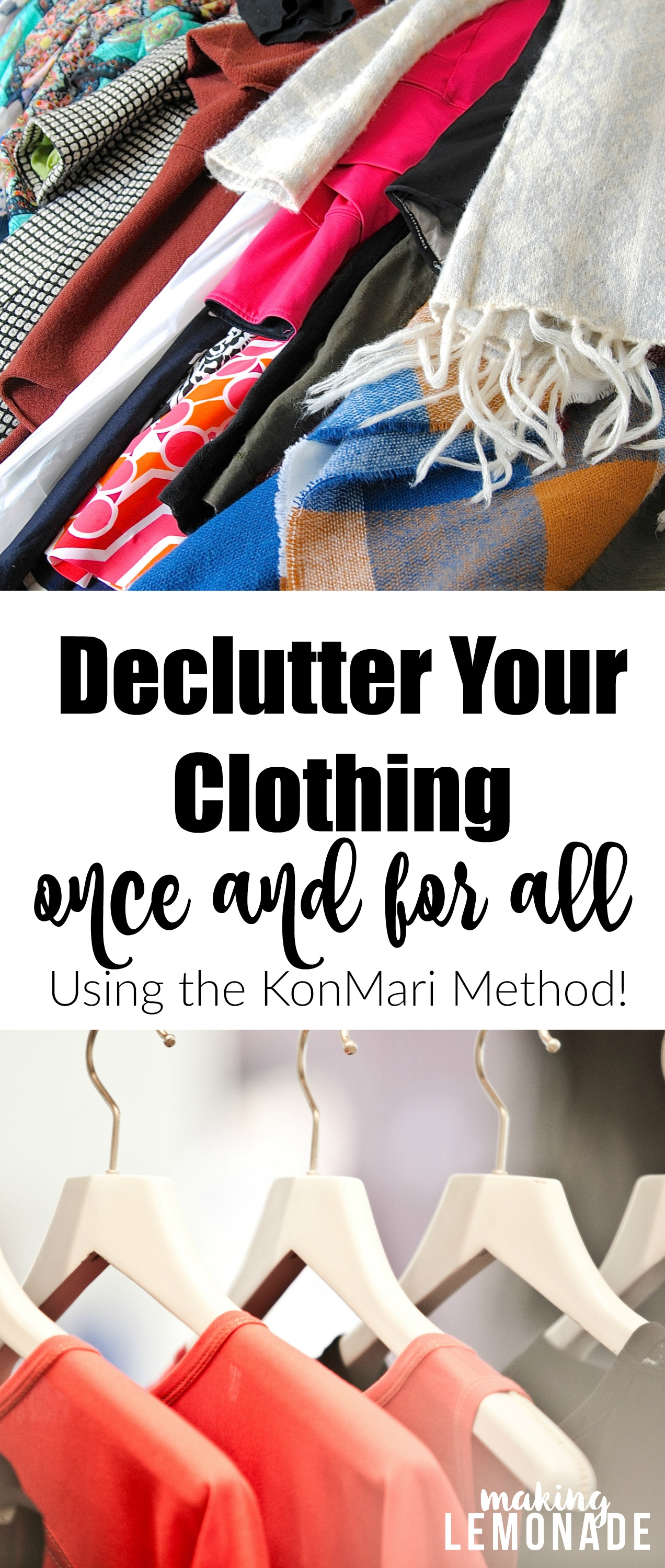 Step By Step Diagram Template: 10 Steps To Declutter Your Clothing Once And For All (The