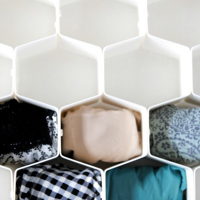 How to Organize Your Underwear Drawer {KonMari Method}