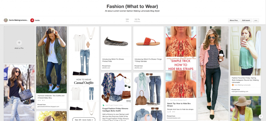 I'm totally doing this-- a personal stylist selects clothing based on your preferences and their delivered to your door! Love Stitch Fix and these spring fashion looks!