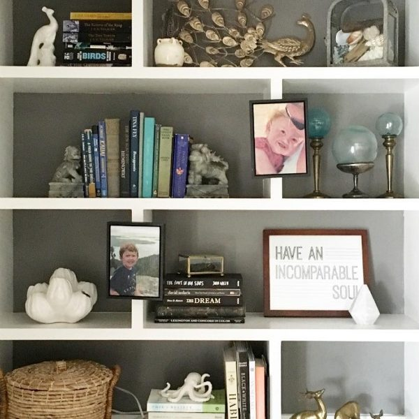 Great advice on how to declutter books and magazines using the KonMari Method of decluttering and organizing!