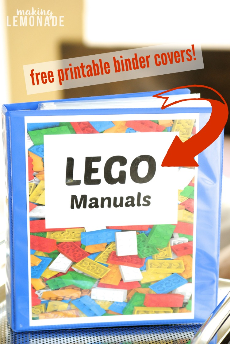finally a great way to organize lego manuals love this organization tip