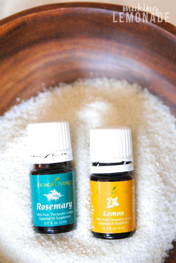 The Take Me Away Diy Rosemary Citrus Body Polish Recipe Making Lemonade