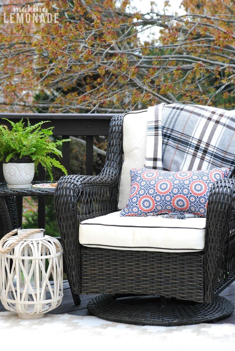 Spring Deck Refresh Amp Outdoor Living Update Making Lemonade