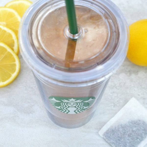this copycat Starbucks recipe for shaken iced tea lemonade looks SO good!