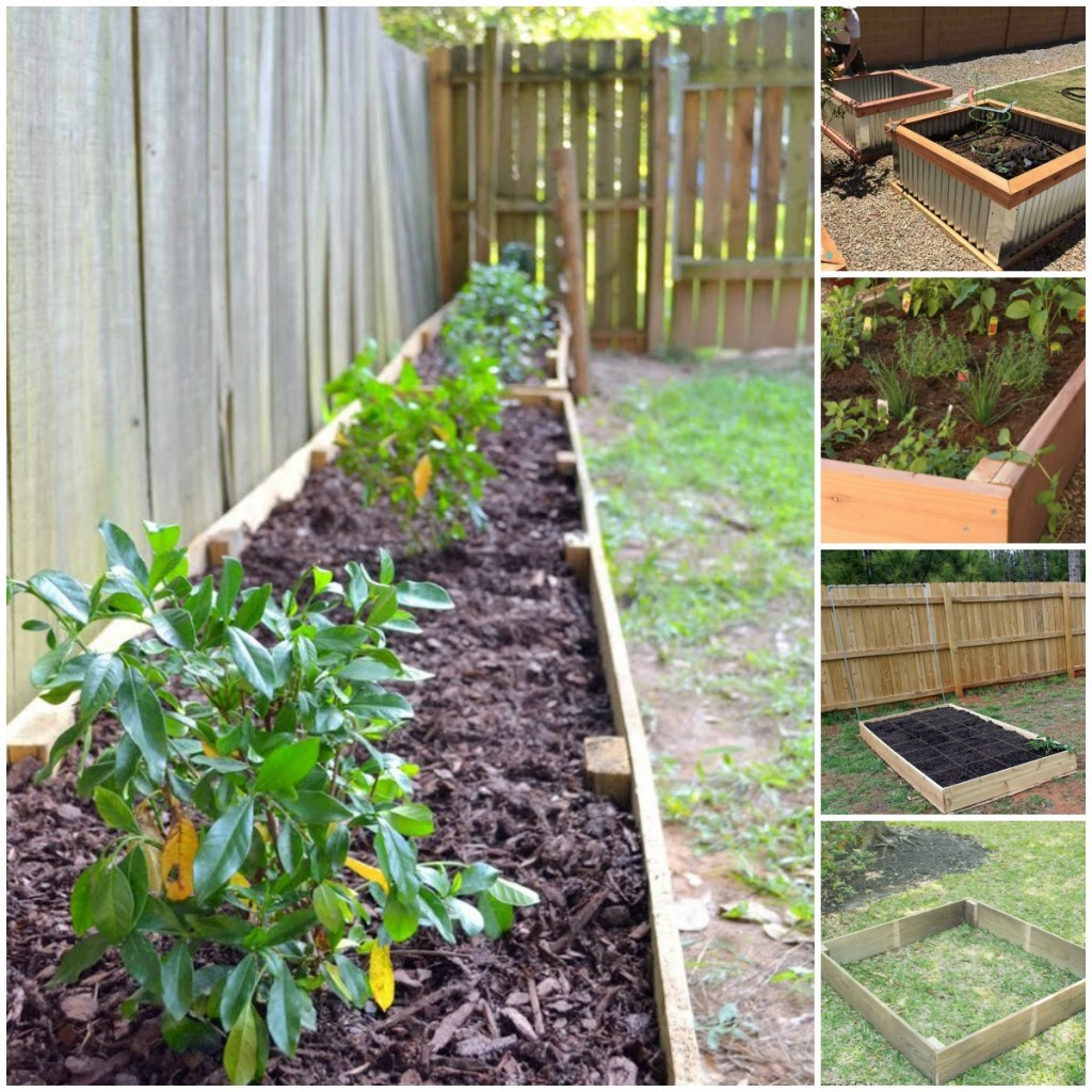 Simple Vegetable Garden Ideas For Your Living: 20 Brilliant Raised Garden Bed Ideas You Can Make In A
