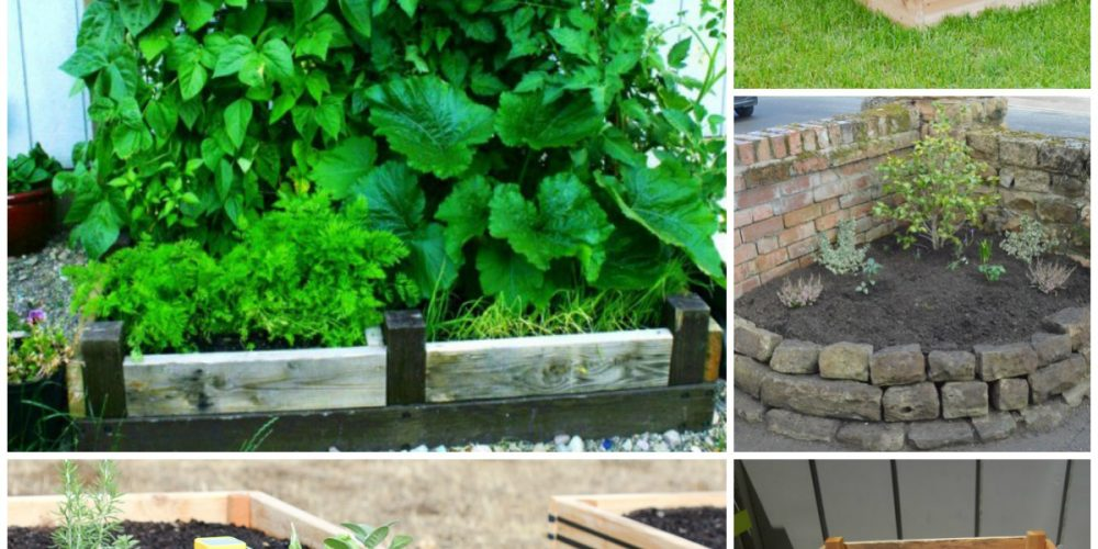 These raised garden bed ideas are so easy and clever, I want to make #7!