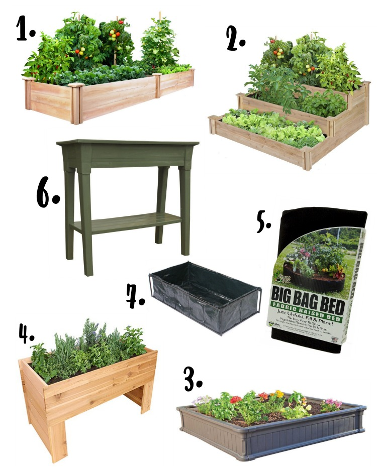 These raised garden bed ideas are so easy and clever, I want to make #8!