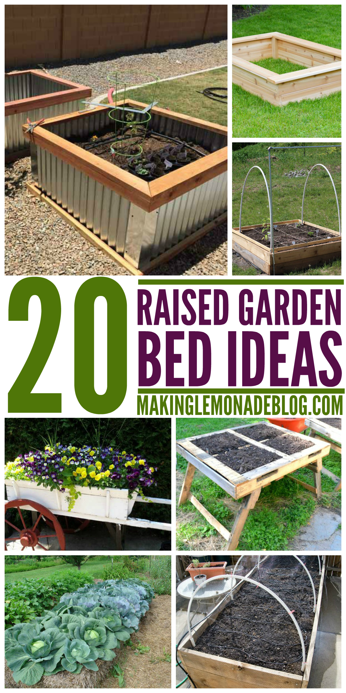20 Brilliant Raised Garden Bed Ideas You Can Make In A ... on raised garden layout plans, raised bed designs, raised garden plans designs, simple raised garden plans, raised vegetable garden design ideas, container flower garden plans, raised garden layout ideas, raised garden border ideas,