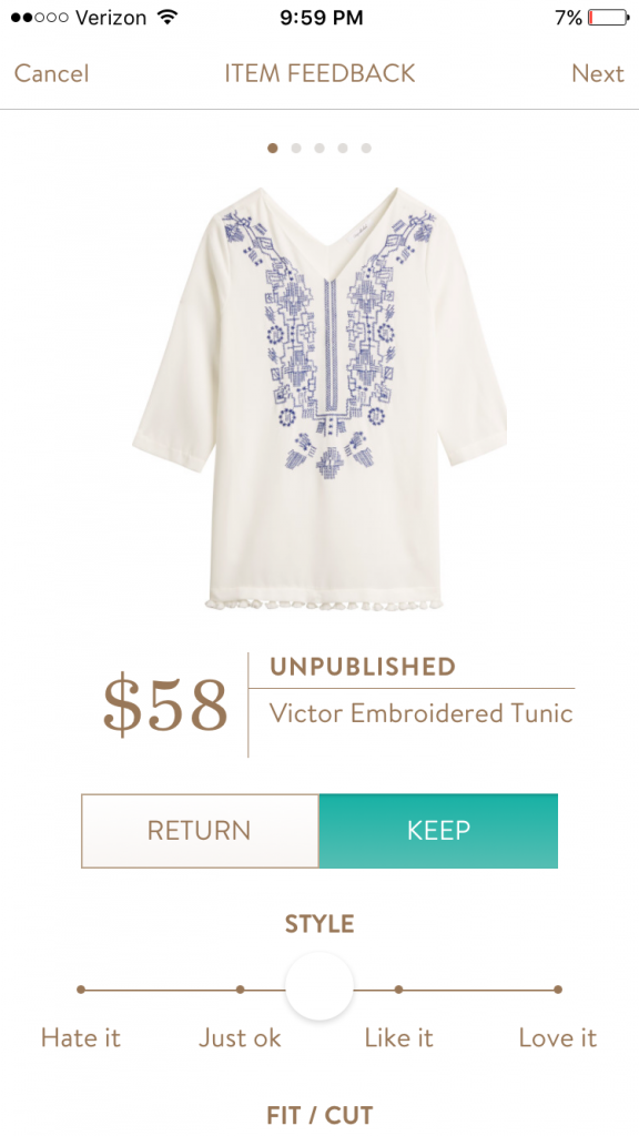 Stitch Fix Review- love the boho vibe in this spring outfit!