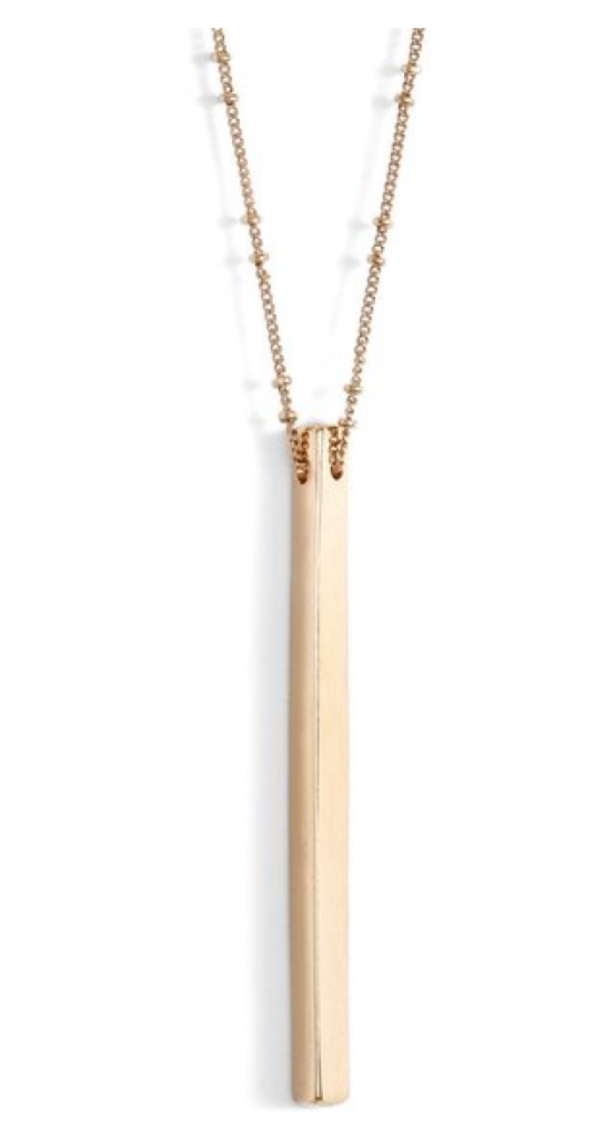 LOVE this gold bar necklace, it's only $18 and perfect for summer! http://rstyle.me/n/bqgwb5bh5dx