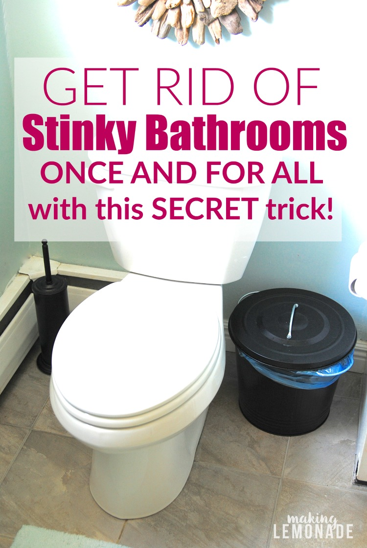 Get Rid of Stinky Bathrooms Once and For All | Making Lemonade