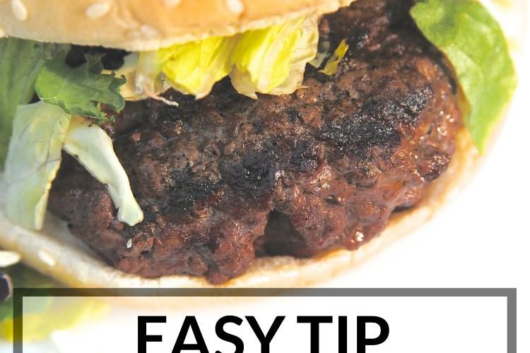 Easy Hack to get the Juiciest Burgers Ever