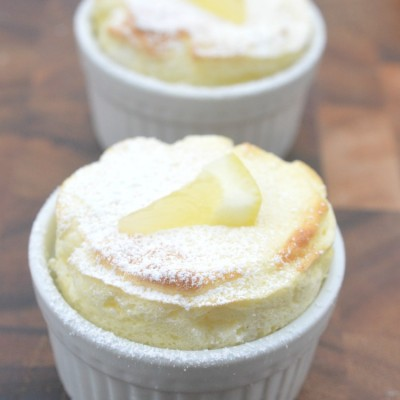 Mini Lemonade Souffles (Delicious Summer Dessert!)
