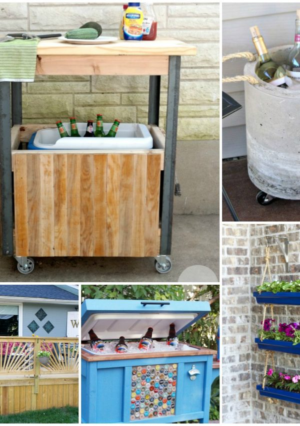 Insanely Clever Outdoor Living DIYs to Try This Summer