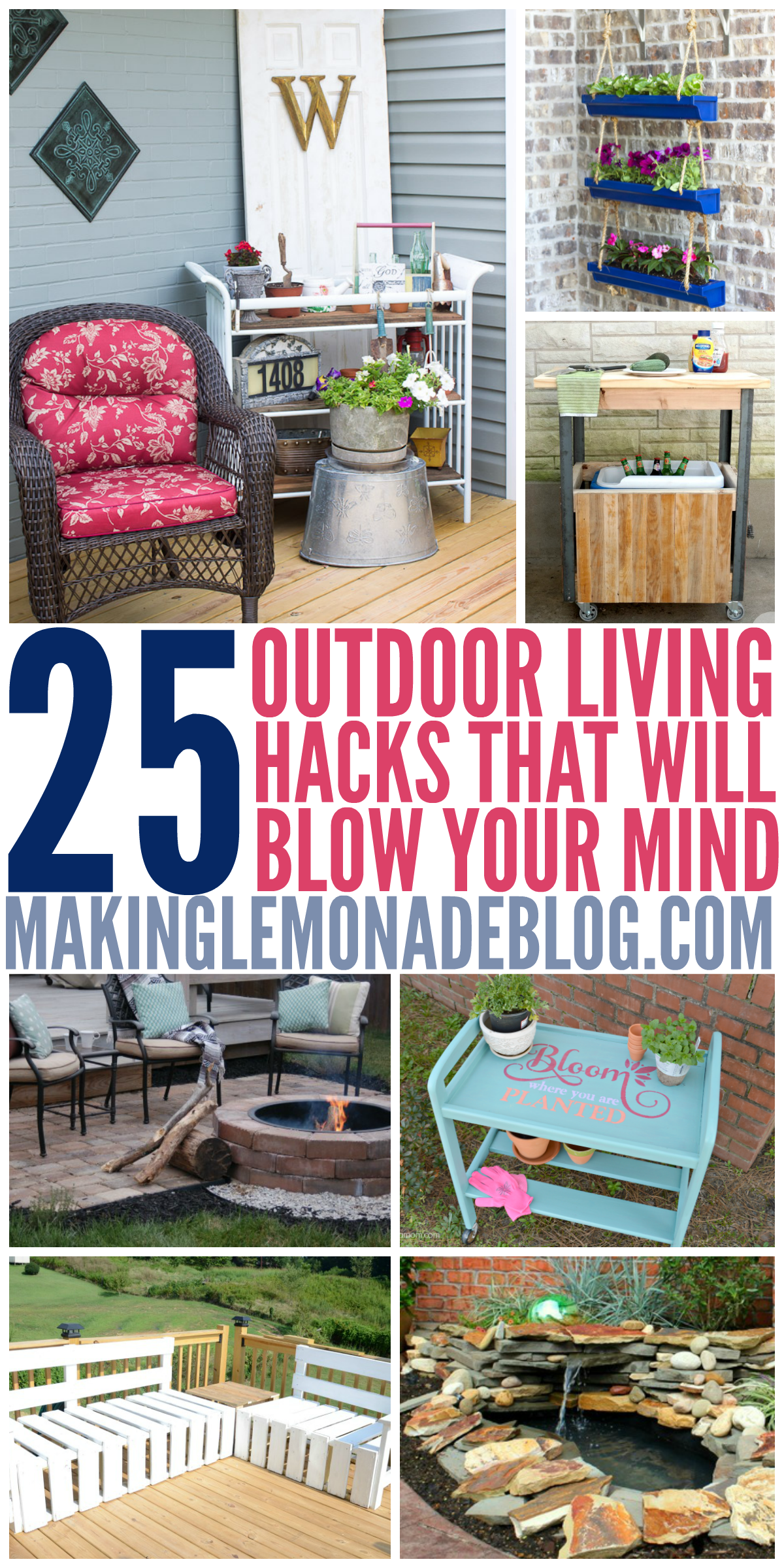 Insanely Clever Outdoor Living Diys To