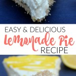 This delicious lemonade pie recipe looks like the perfect summer dessert; can't wait to make it for our next party or cookout!