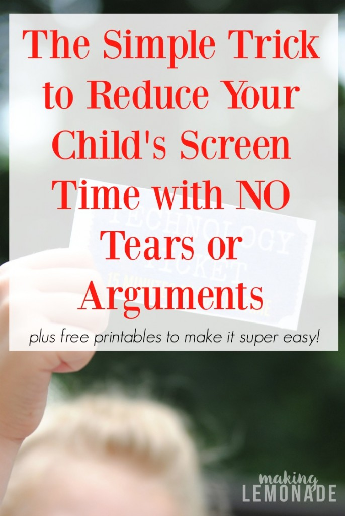 photo regarding Printable Technology named How We Lower Show Period with NO Tears or Tantrums! (Absolutely free