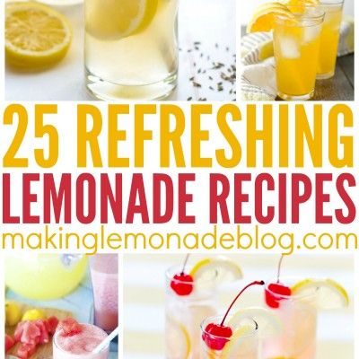 25 Mouthwatering Lemonade Recipes to Try this Summer