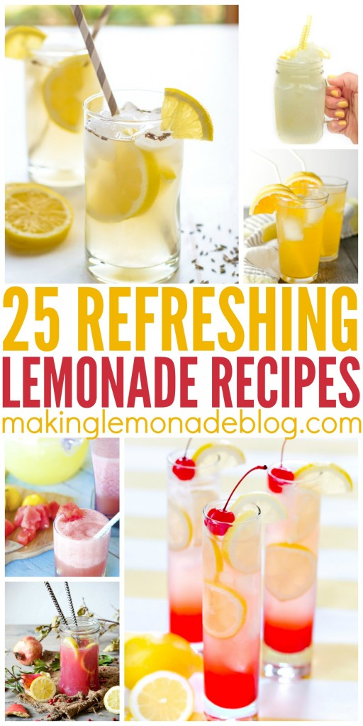25 Mouthwatering Lemonade Recipes To Try This Summer Making Lemonade