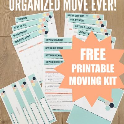 Ultimate Collection of Moving Printables (FREE Printable Moving Kit!)
