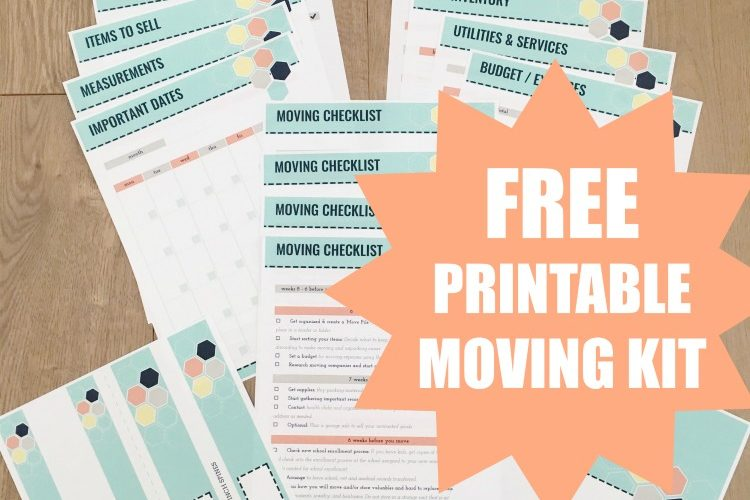 picture regarding Stay Organized With a Printable Moving Checklist known as Greatest Variety of Going Printables (Absolutely free Printable