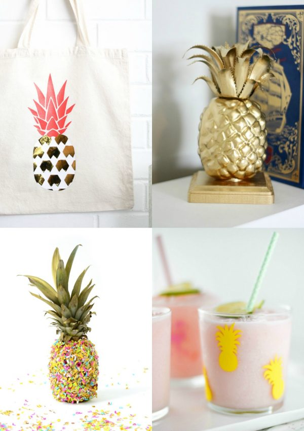 15 DIY Pineapple Projects You'll Want to Make