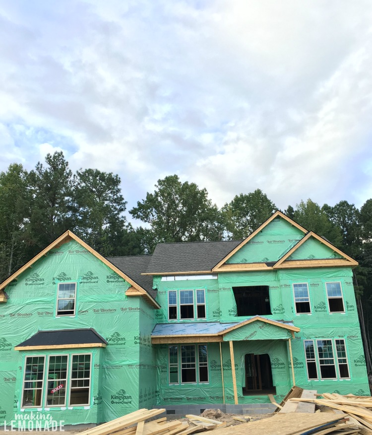 All about building a new house and following this new construction home from start to finish!
