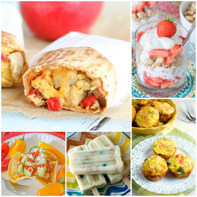 so happy I found these 25 healthy breakfast ideas my kids will LOVE!