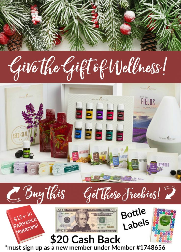 Give the gift of wellness- essential oils