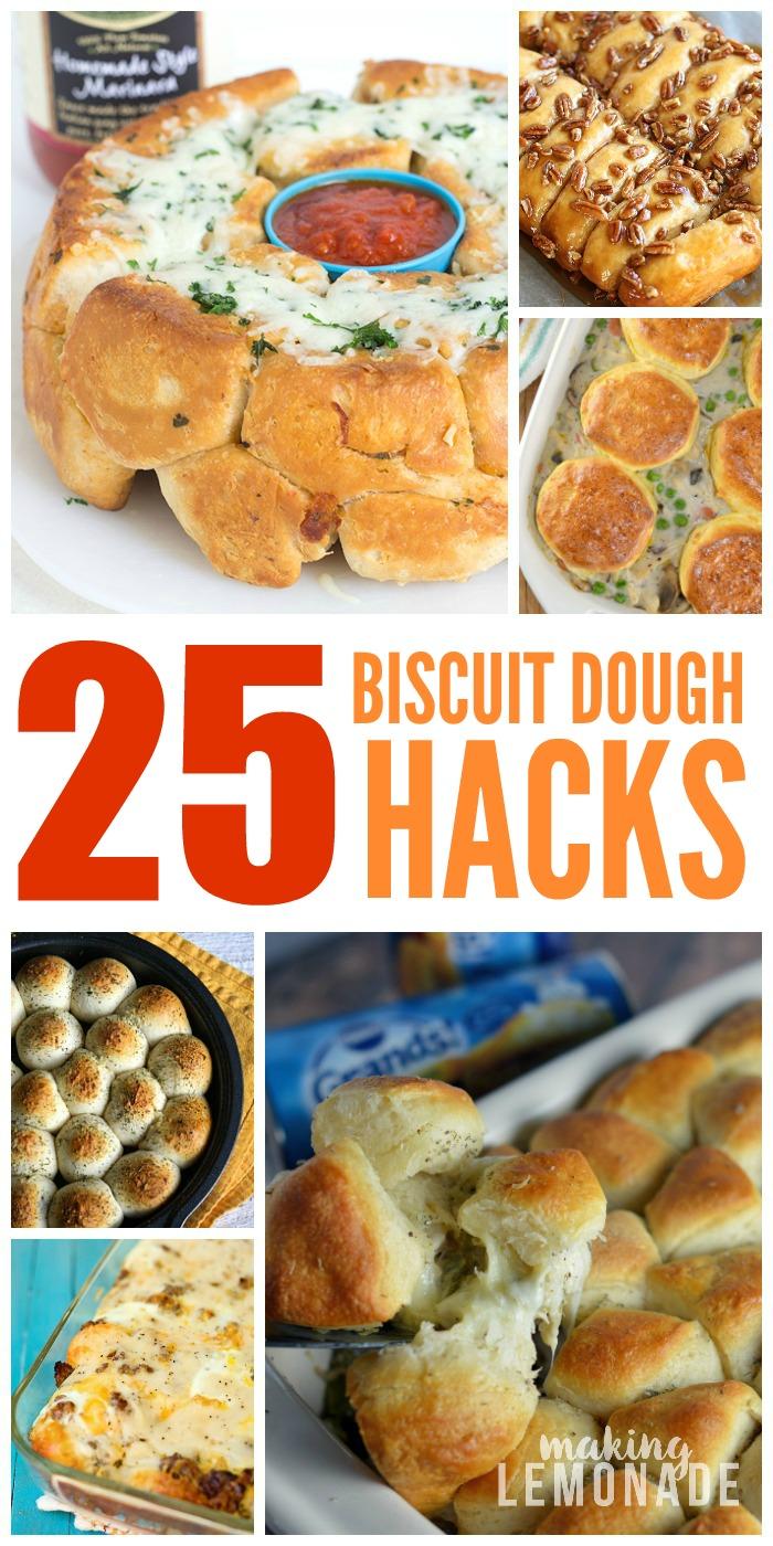 25 Epic Canned Biscuit Dough Hacks Making Lemonade