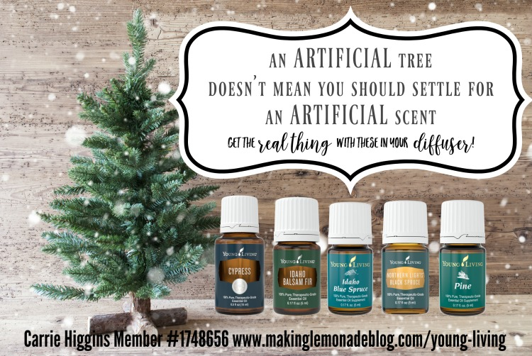 Make your artificial tree smell like the real thing