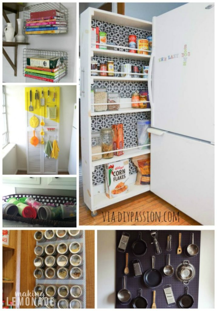 30 Genius Kitchen Storage Hacks Ideas
