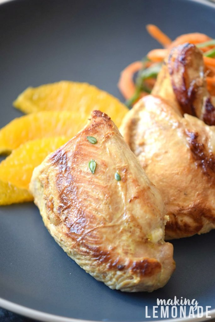Why stress Thanksgiving or Christmas dinner? This delicious and easy Orange Glazed Turkey Breast recipe will be a crowd favorite with half the work!