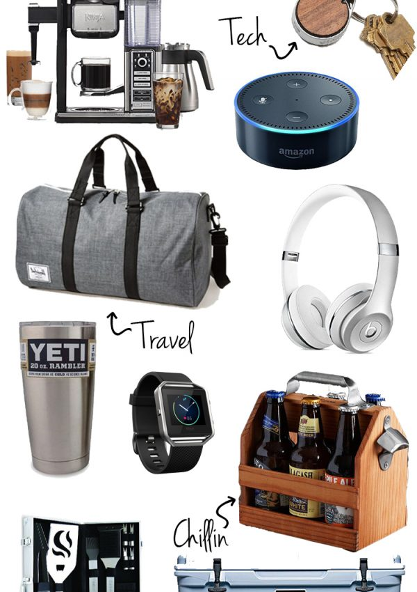 Holiday Gift Guide: Favorite Gifts for Guys