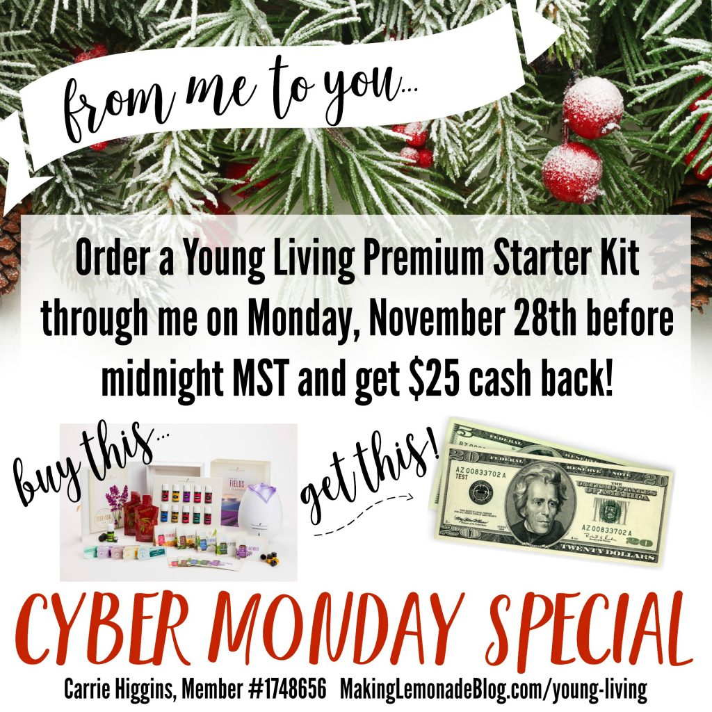 amazing deal on the young living premium starter kit! WOW!