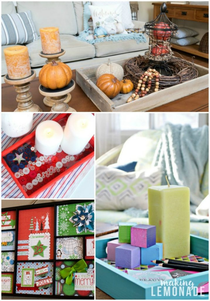 One item, four ways! Save money on home decor with these 4 must-have items that you can use for EVERY season!