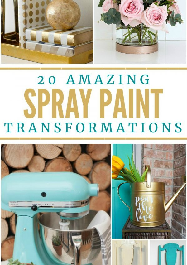 20 Amazing Spray Paint Transformations