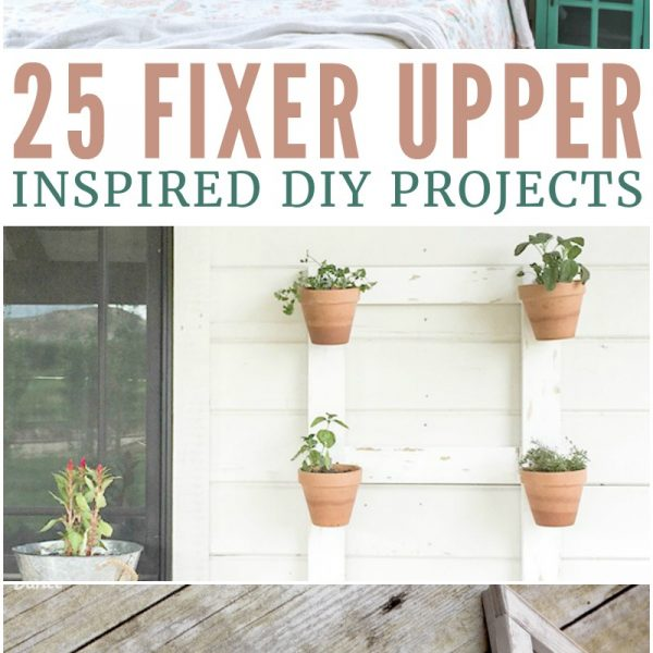 love these gorgeous Fixer Upper modern farmhouse style DIY projects!