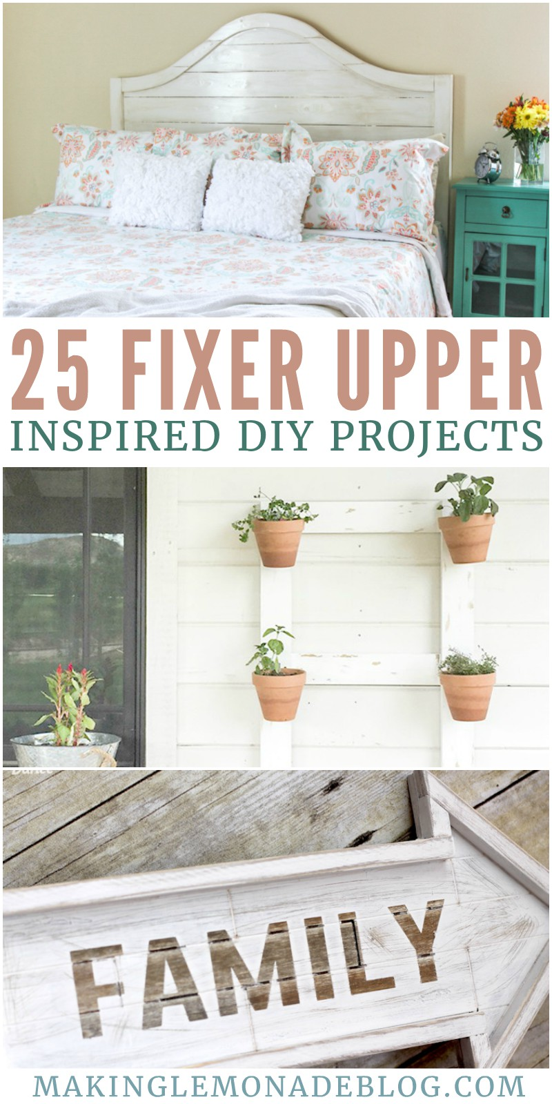 25 Fixer Upper Inspired DIY Projects